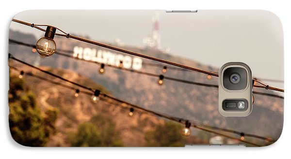 Galaxy Case featuring the photograph Hollywood Sign On The Hill 2 by Micah May