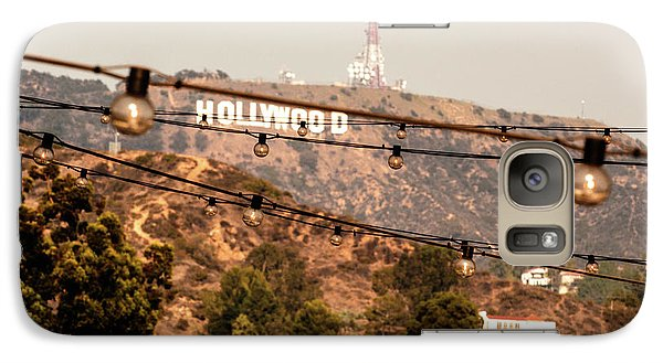 Galaxy Case featuring the photograph Hollywood Sign On The Hill 3 by Micah May