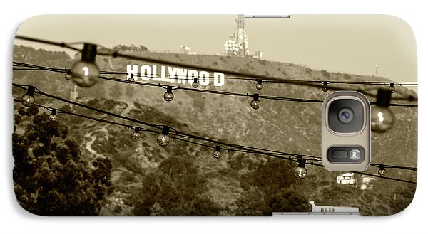 Galaxy Case featuring the photograph Hollywood Sign On The Hill 4 by Micah May
