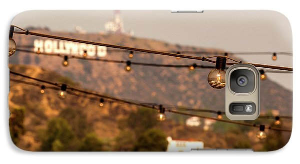 Galaxy Case featuring the photograph Hollywood Sign On The Hill 5 by Micah May