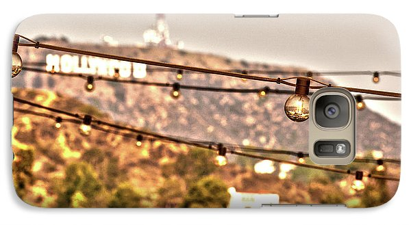 Galaxy Case featuring the photograph Hollywood Sign On The Hill 6 by Micah May