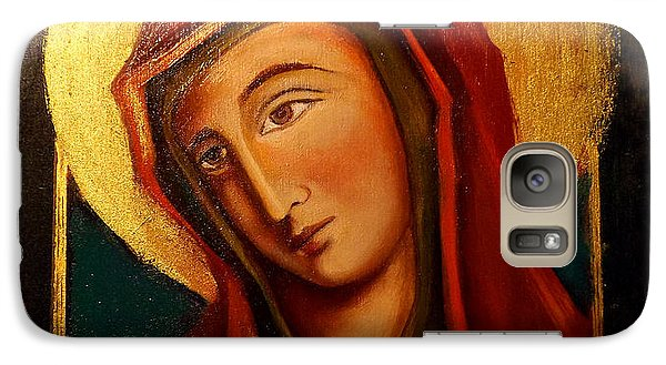 Galaxy Case featuring the painting Holy Mary by Irena Mohr