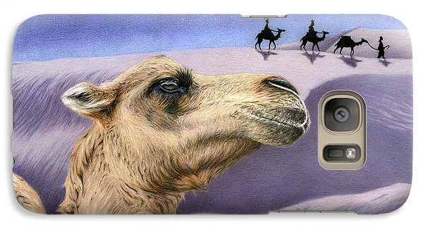Holy Night Galaxy S7 Case by Sarah Batalka