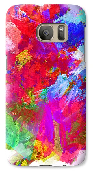 Galaxy Case featuring the digital art Holy Town by AC Williams