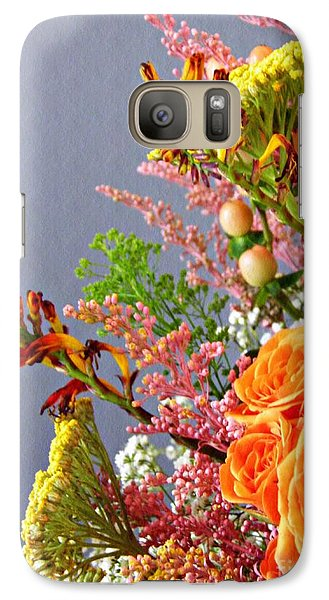 Galaxy Case featuring the photograph Holy Week Flowers 2017 3 by Sarah Loft