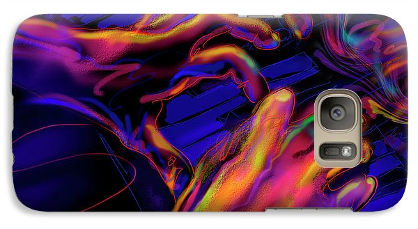 Galaxy Case featuring the painting Home At Last by DC Langer