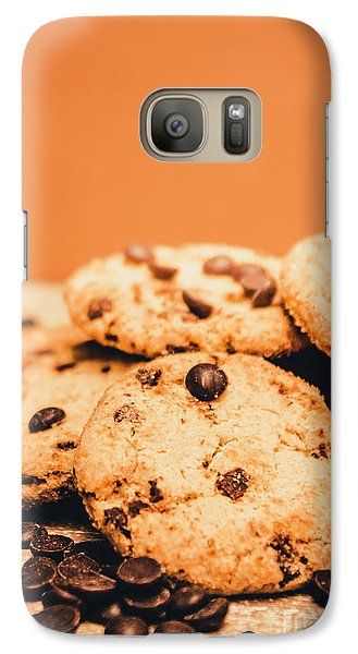 Home Baked Chocolate Biscuits Galaxy S7 Case