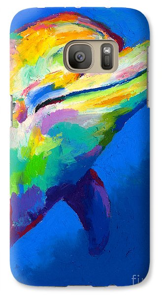 Galaxy Case featuring the painting Home Is Ocean by Stephen Anderson