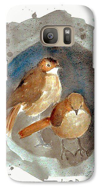 Galaxy Case featuring the painting Home by Jasna Dragun