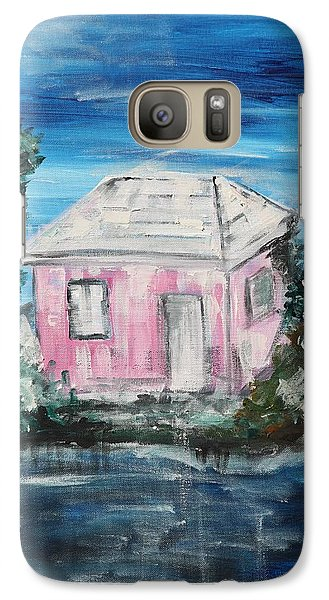 Galaxy Case featuring the painting Home by Sladjana Lazarevic
