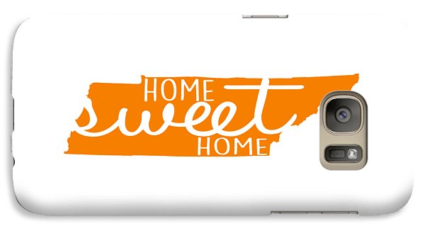 Galaxy Case featuring the digital art Home Sweet Home Tennessee by Heather Applegate