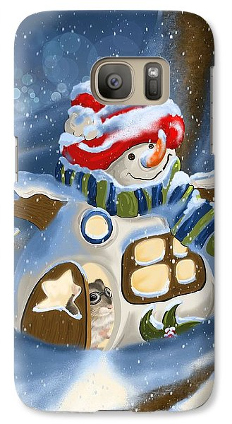Galaxy Case featuring the painting Home Sweet Home by Veronica Minozzi