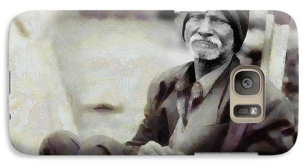 Galaxy Case featuring the digital art Homeless II by Gun Legler