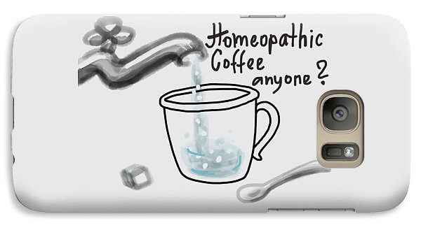 Homeopathic Coffee Galaxy S7 Case