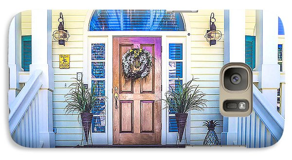 Galaxy Case featuring the photograph Homes Of Key West 10 by Julie Palencia