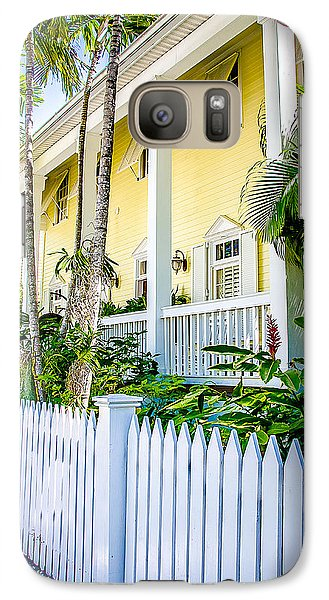 Galaxy Case featuring the photograph Homes Of Key West 14 by Julie Palencia