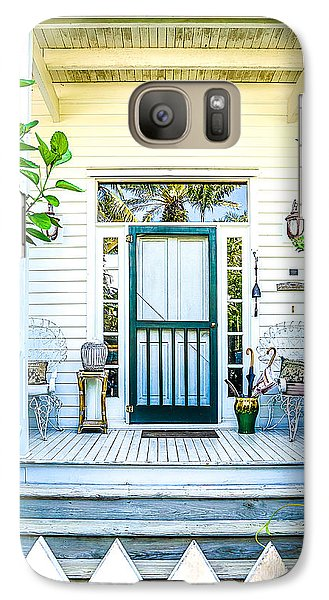 Galaxy Case featuring the photograph Homes Of Key West 9 by Julie Palencia