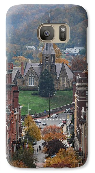 Galaxy Case featuring the photograph My Hometown Cumberland, Maryland by Eric Liller