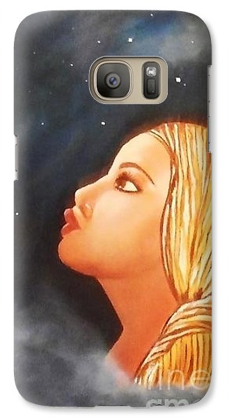 Galaxy Case featuring the painting Homeward Bound by Lori Jacobus-Crawford