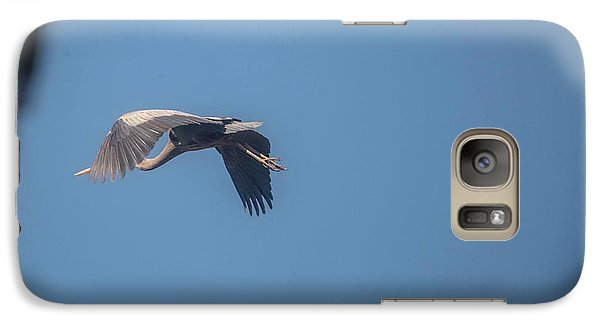 Galaxy Case featuring the photograph Homing Home by David Bearden