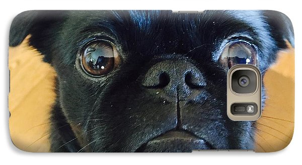 Galaxy Case featuring the photograph Honestly by Paula Brown