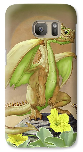 Galaxy Case featuring the digital art Honey Dew Dragon by Stanley Morrison