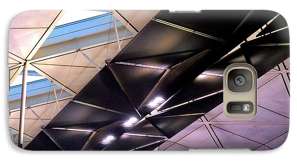 Galaxy Case featuring the photograph Hong Kong Airport by Randall Weidner