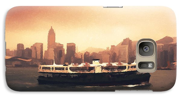 Hong Kong Harbour 01 Galaxy S7 Case by Pixel  Chimp