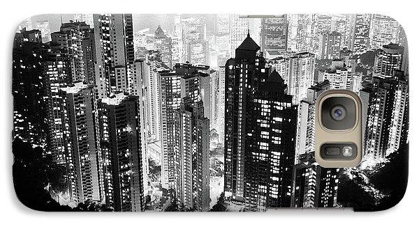 Hong Kong Nightscape Galaxy Case by Joseph Westrupp