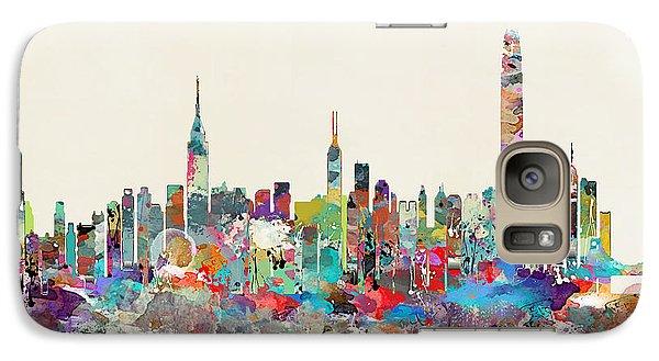Hong Kong Galaxy S7 Case - Hong Kong Skyline by Bleu Bri