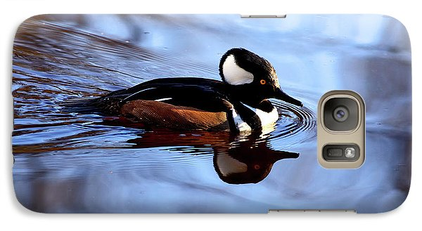 Galaxy Case featuring the photograph Hooded Merganser In Stanley Park by Terry Elniski