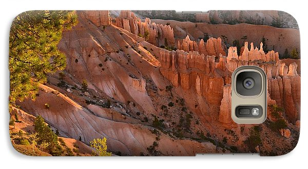 Galaxy Case featuring the photograph Hoodoos At Sunrise by Stephen  Vecchiotti