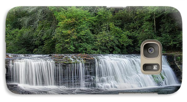 Galaxy Case featuring the photograph Hooker Falls by Steven Richardson