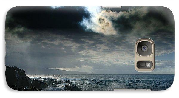 Hookipa Waiola  O Ka Lewa I Luna Ua Paaia He Lani Maui Hawaii  Galaxy S7 Case by Sharon Mau