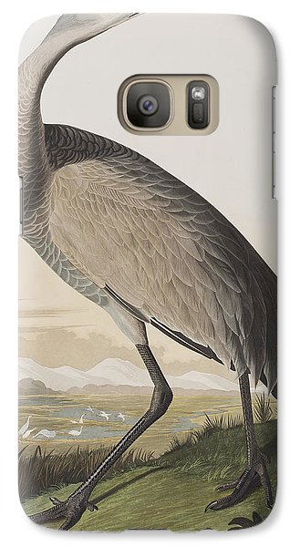 Hooping Crane Galaxy S7 Case