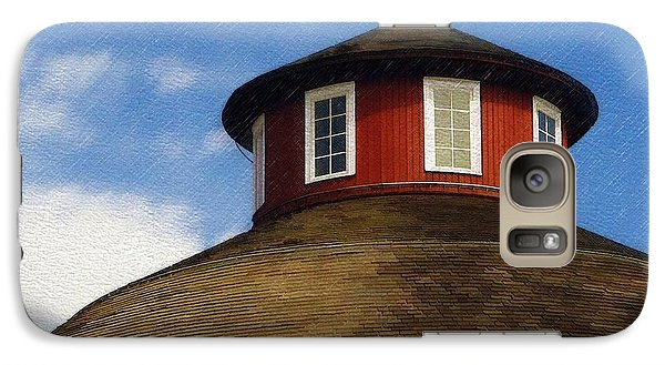 Galaxy Case featuring the photograph Hoosier Cupola by Sandy MacGowan