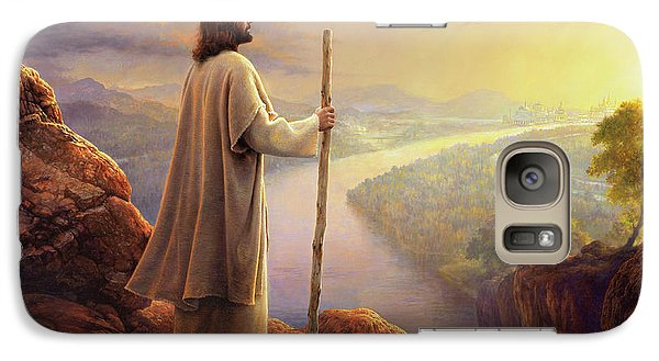 Galaxy Case featuring the painting Hope On The Horizon by Greg Olsen
