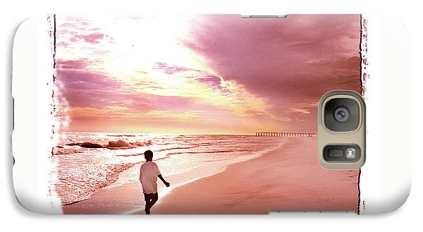 Galaxy Case featuring the photograph Hope's Horizon by Marie Hicks