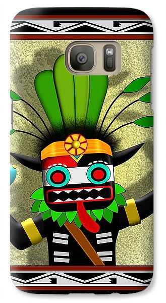 Galaxy Case featuring the digital art Hopi Harvest Kachina by John Wills
