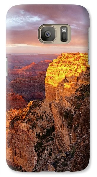 Galaxy Case featuring the photograph Hopi Point Sunset 2 by Arthur Dodd