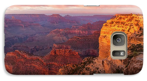 Galaxy Case featuring the photograph Hopi Point Sunset 3 by Arthur Dodd