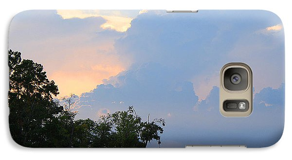 Galaxy Case featuring the photograph Hoping For An Evening Shower by Roena King