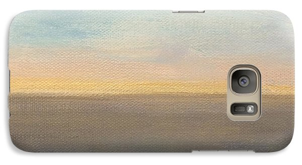 Galaxy Case featuring the painting Horizon Aglow by Kim Nelson