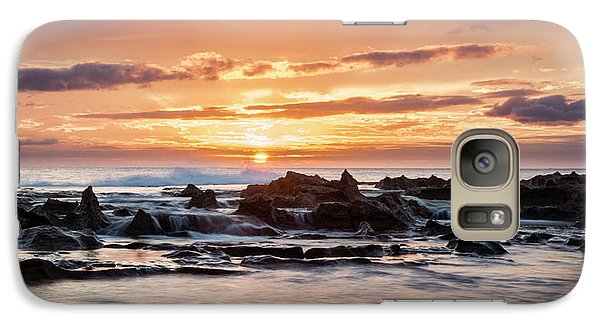 Galaxy Case featuring the photograph Horizon In Paradise by Heather Applegate