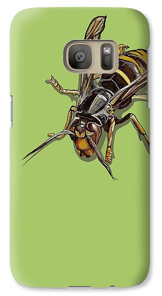 Galaxy Case featuring the painting Hornet by Jude Labuszewski