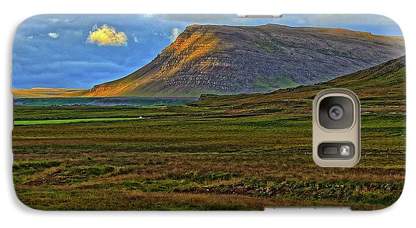Galaxy Case featuring the photograph Horse And Sky by Scott Mahon