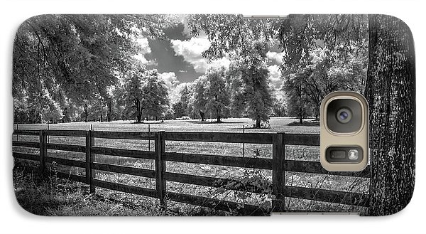 Galaxy Case featuring the photograph Horse Country by Louis Ferreira