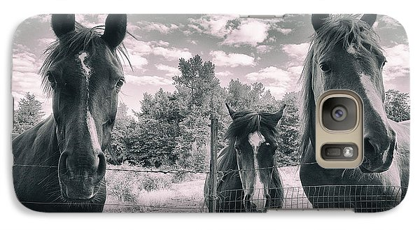 Horse Family Galaxy S7 Case