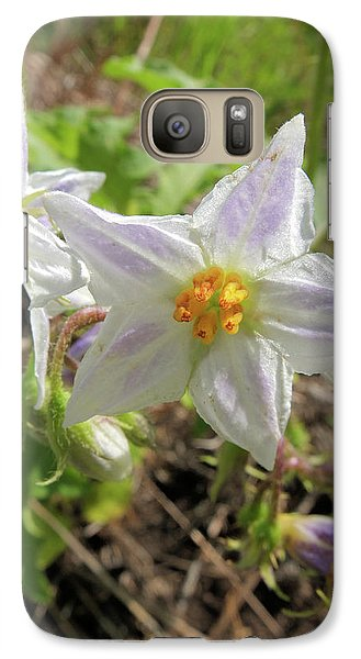 Galaxy Case featuring the photograph Horse Nettle by Scott Kingery