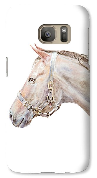 Galaxy Case featuring the painting Horse Portrait I by Elizabeth Lock